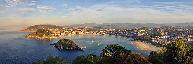 La baie de San Sebastián, photo de Phillip Maiwald