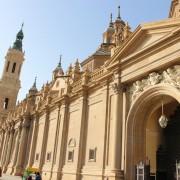 A Saragosse, la Basilique Nuestra Señora del Pilar