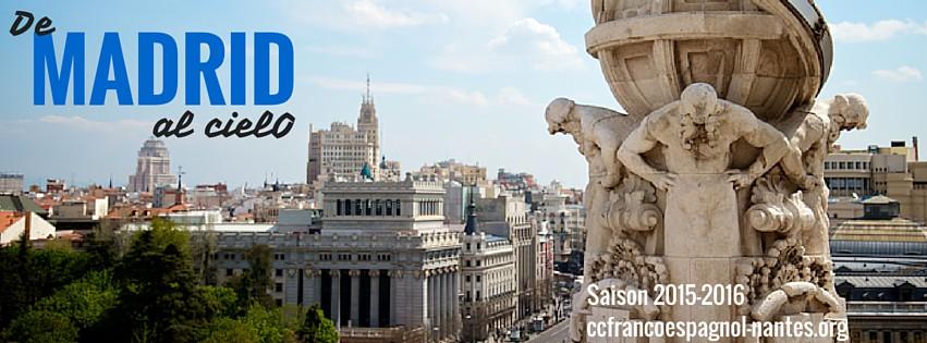 Saison culturelle 2015-2016 sur Madrid