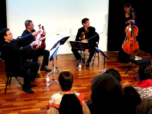 Concert du Quatuor Vélasquez