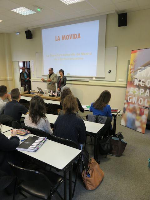 Conférence au lycée Guist'hau à Nantes