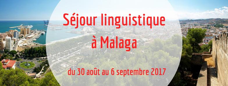 Séjour linguistique à Malaga