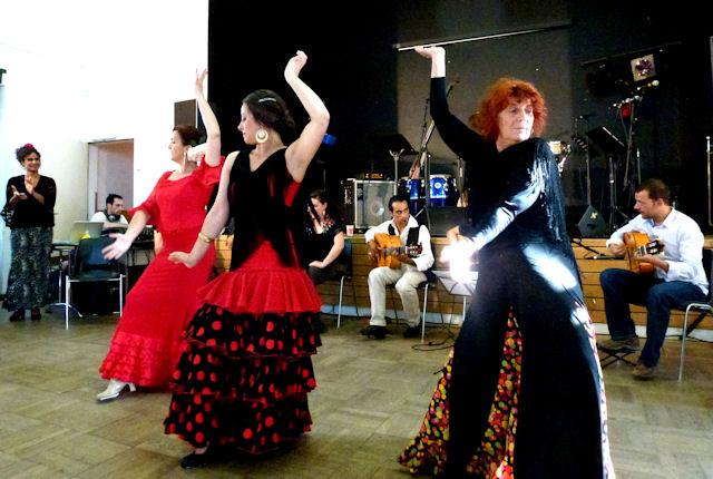 Les Cours de flamenco au Centre Culturel Franco Espagnol - Avec la Peña Planta Tacón
