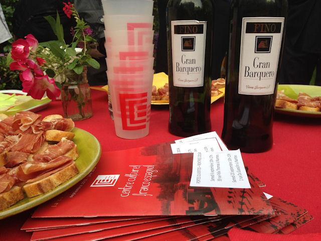 Dégustation des vins d'Andalousie au Centre Culturel Franco Espagnol de Nantes