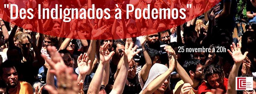 """Conférence """"Des Indignados à Podemos"""""""
