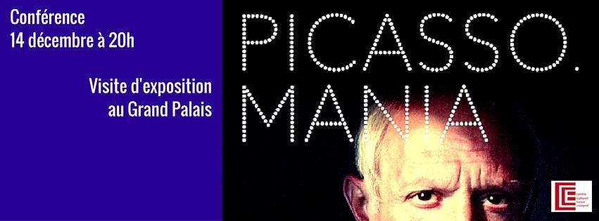 Conférence et visite de l'exposition Picasso.Mania