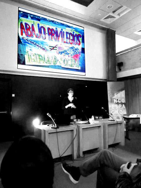 """Conférence d'Héloïse Nez : """"Des Indignados à Podemos, enquête à Madrid"""""""
