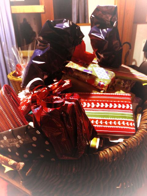 Amenez un petit cadeau, et repartez à votre tour avec un présent de bonne année