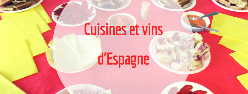 Cuisine et vin d'Espagne